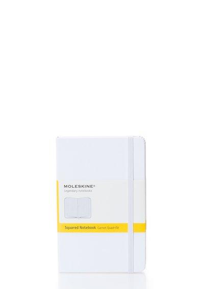 Carnetel mic alb cu pagini de matematica