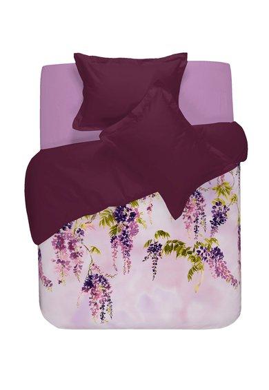 NAF NAF linge de maison Set de pat violet cu imprimeu floral Robina