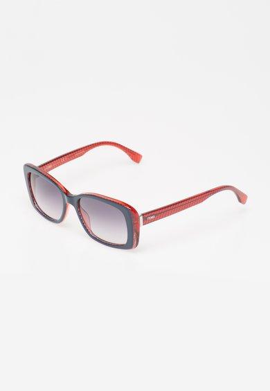 Ochelari de soare bleumarin cu rosu