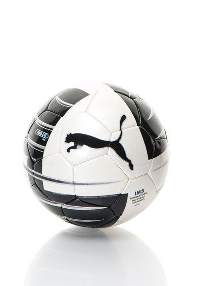Minge de fotbal negru cu alb Powercat 4.10 Puma