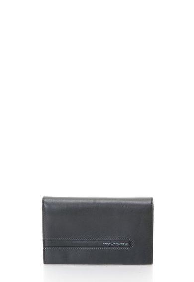 FashionDays.ro: Portofel negru de piele Piquadro