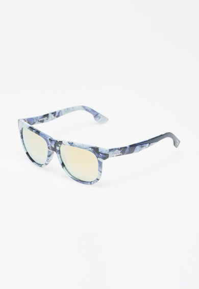 Ochelari de soare albastri cu aspect marmorat de la Diesel