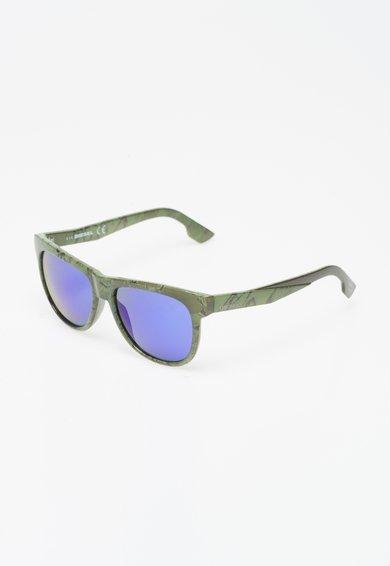 Ochelari de soare verde sparanghel cu lentile oglinda Diesel