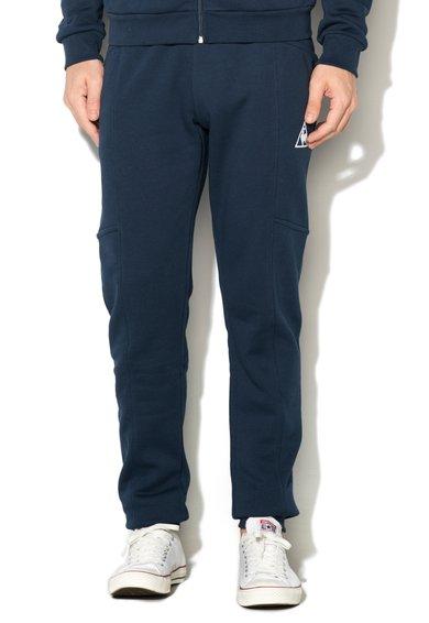 Le Coq Sportif Pantaloni sport albastru inchis slim fit Pant Bar