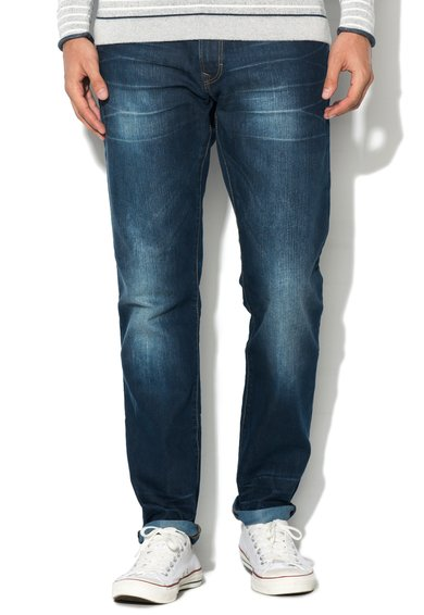 FashionDays.ro: Jeansi slim fit albastru inchis EDC by ESPRIT