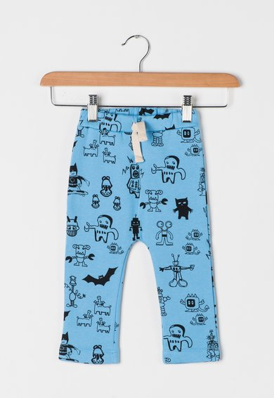 FashionDays.ro: Pantaloni bleu cu desene ESPRIT