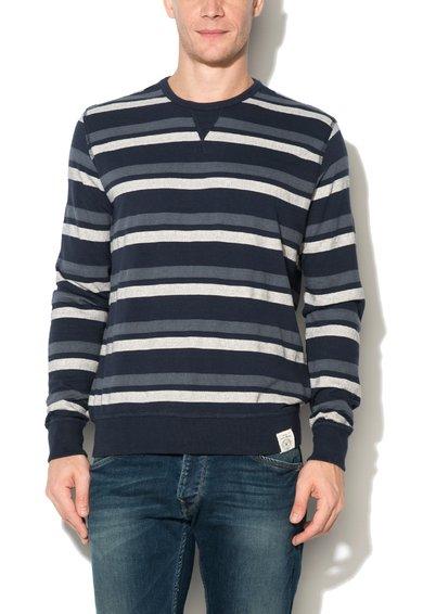 Pulover multicolor slim fit din jerseu Halkin de la Pepe Jeans London