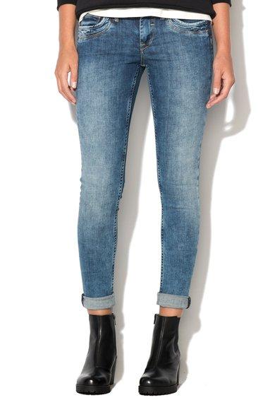 FashionDays.ro: Jeansi albastri slim fit Ripple Pepe Jeans London