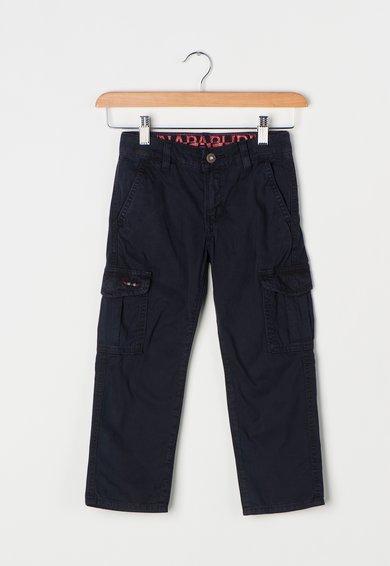 Pantaloni cargo bleumarin inchis Moto de la Napapijri