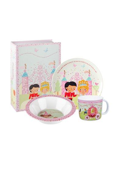 Churchill Set de vase multicolore de melamina Cinderella – 3 piese