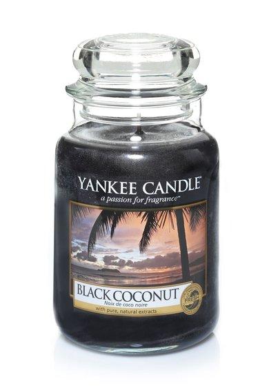 Lumanare parfumata in borcan mare Black Coconut de la Yankee Candle