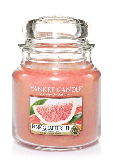 Yankee Candle Lumanare parfumata in borcan mediu Pink Grapefruit