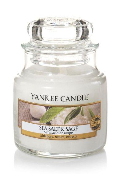 Lumanare parfumata in borcan mic Sea Salt&Sage de la Yankee Candle