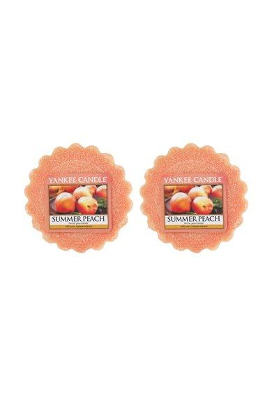 Set de tarte de ceara parfumata Summer Peach™ - 2 bucati