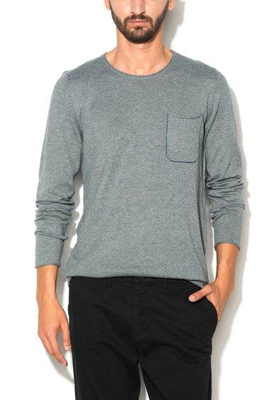 FashionDays.ro: Bluza gri melange tricotata fin ESPRIT
