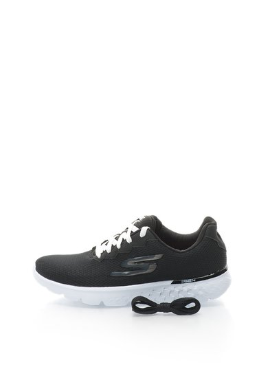 FashionDays.ro: Pantofi negri pentru alergare de plasa Go Run 400 Skechers