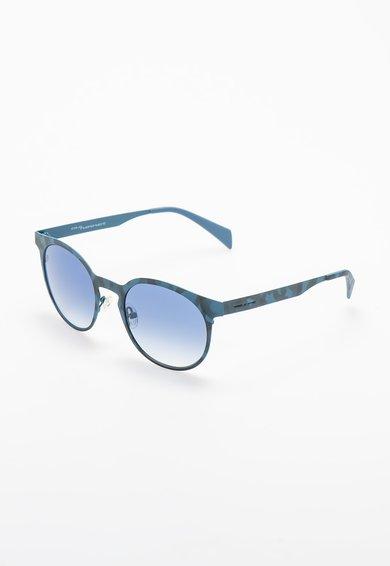 Ochelari de soare pantos albastru pastel cu gri de la Italia Independent