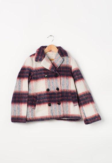 FashionDays.ro: Haina multicolora din amestec de lana si cu captuseala teddy ESPRIT