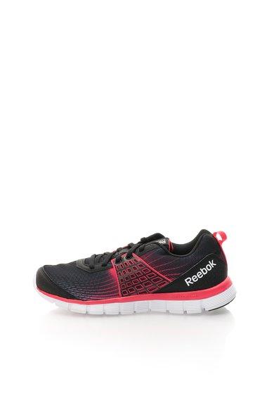 Pantofi negru cu roz pentru alergare Reebok Z Dual Rush de la Reebok
