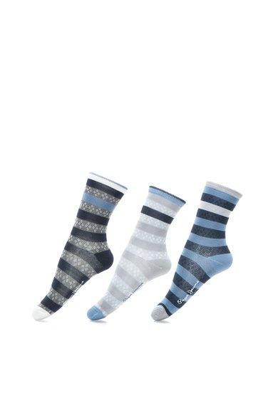 Set de sosete groase in nuante de albastru Flick – 3 perechi de la Pepe Jeans London