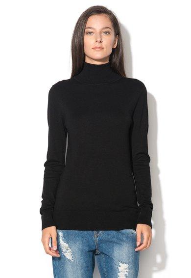 Bluza neagra tricotata Pimba