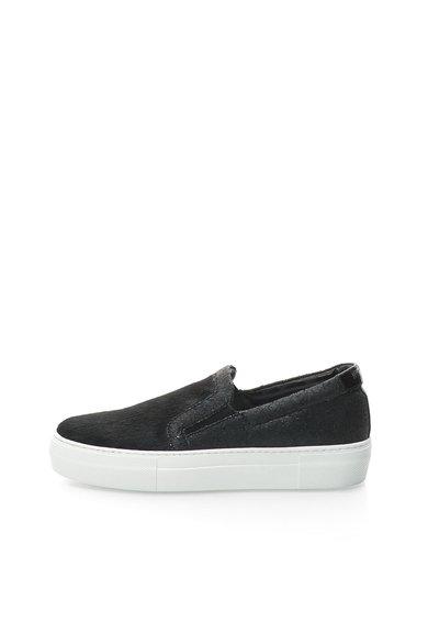 FashionDays.ro: Pantofi flatform slip-on negri Just Cavalli
