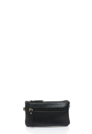 FashionDays.ro: Geanta plic neagra cu bareta detasabila Pieces
