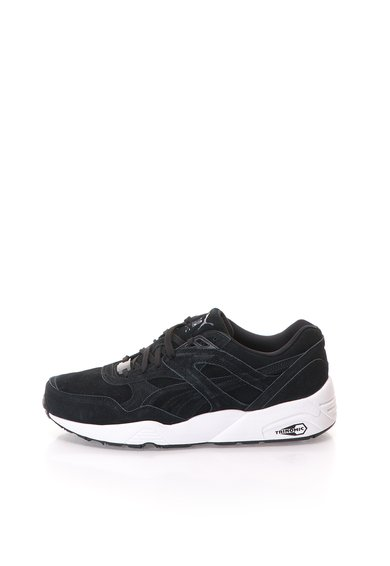 Pantofi sport negri de piele intoarsa R698 de la Puma