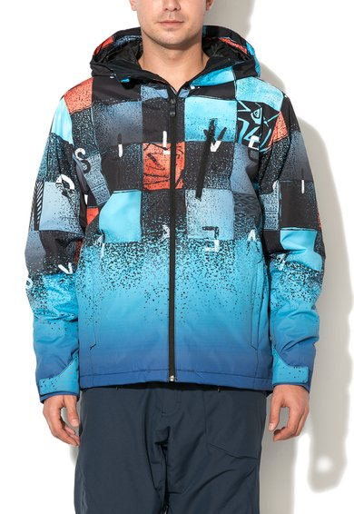 Jacheta multicolora pentru sporturi de iarna de la Quiksilver