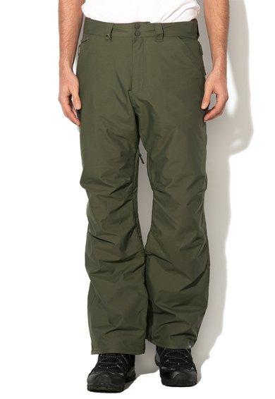 FashionDays.ro: Pantaloni verde militar pentru sporturile de iarna Quiksilver