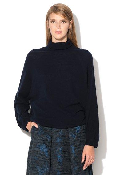 FashionDays.ro: Pulover bleumarin inchis de lana si casmir Primizia MaxCo