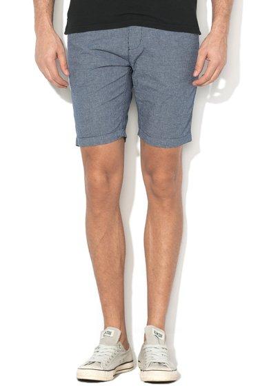 FashionDays.ro: Pantaloni scurti bleumarin in carouri Masons Pepe Jeans London