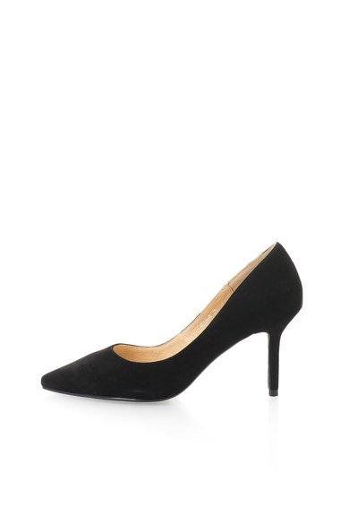 FashionDays.ro: Pantofi negri de piele intoarsa NISSA