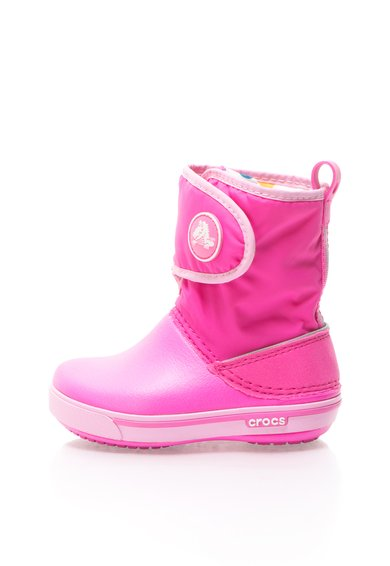 FashionDays.ro: Cizme roz cu velcro Crocs