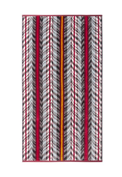 FashionDays.ro: Prosop mic multicolor cu model geometric Nuance Kenzo Maison