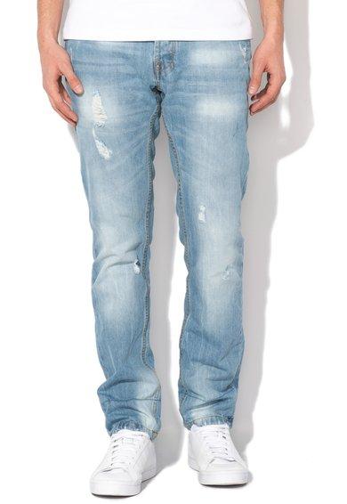 Alcott Jeansi albastri slim fit cu aspect deteriorat