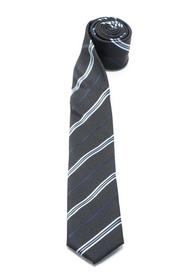 Cravata negru cu albastru Lauritz