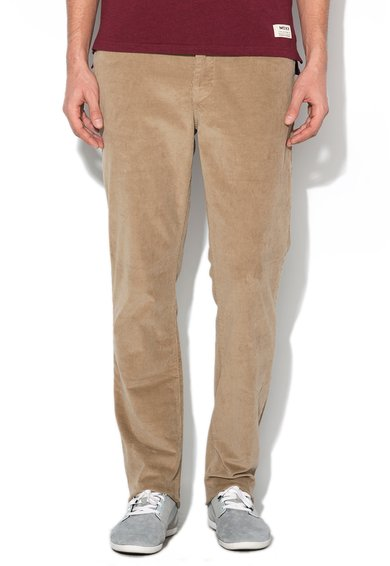 Mexx Pantaloni regular fit maro deschis din reiat