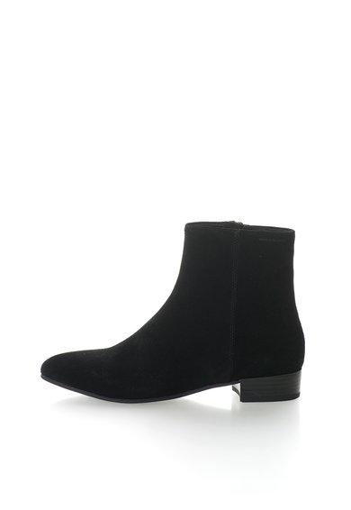 FashionDays.ro: Botine negre de piele intoarsa Gigi Vagabond Shoemakers