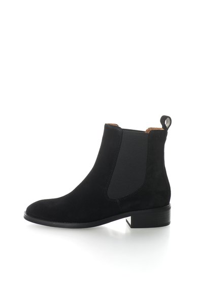 FashionDays.ro: Ghete Chelsea negre de piele intoarsa Ava Vagabond Shoemakers