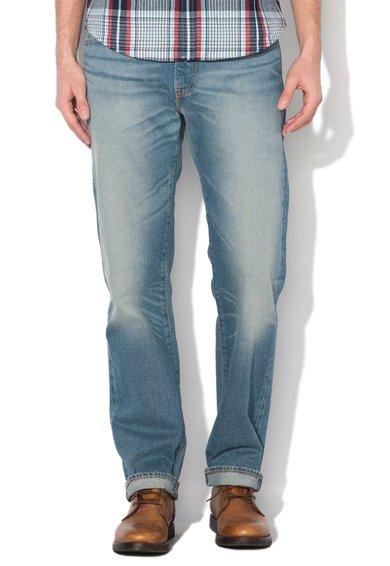 FashionDays.ro: Jeansi regular fit drepti bleu 504 Levis