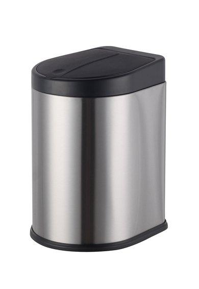 Neon Living Cos de gunoi argintiu cu negru