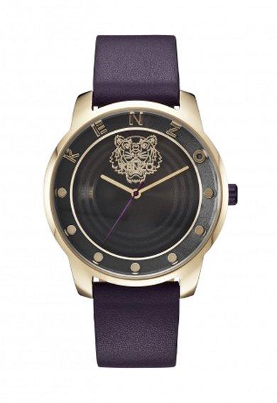 FashionDays.ro: Ceas violet aubergine cu o curea de piele 7 Point Kenzo