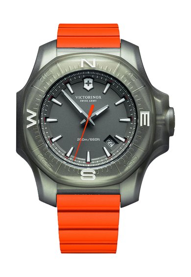 FashionDays.ro: Ceas oranj INOX Titanium Victorinox