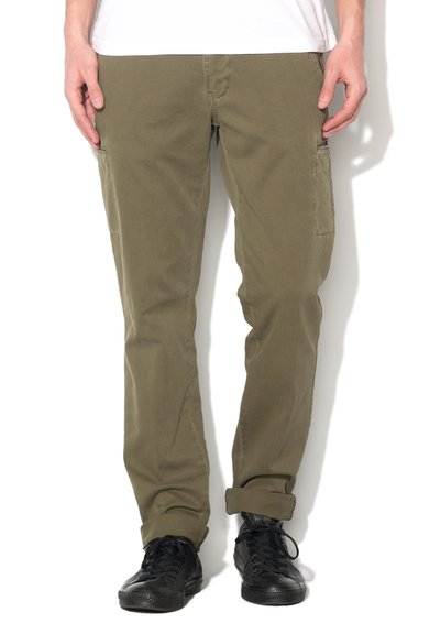 New Zealand Auckland Pantaloni conici verde militar Larry Bay