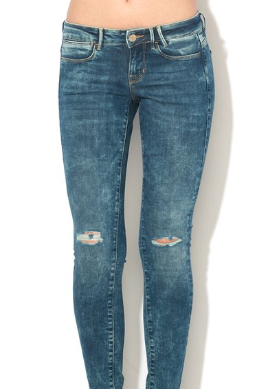 GUESS JEANS Jeansi slim fit albastri Femei image_4