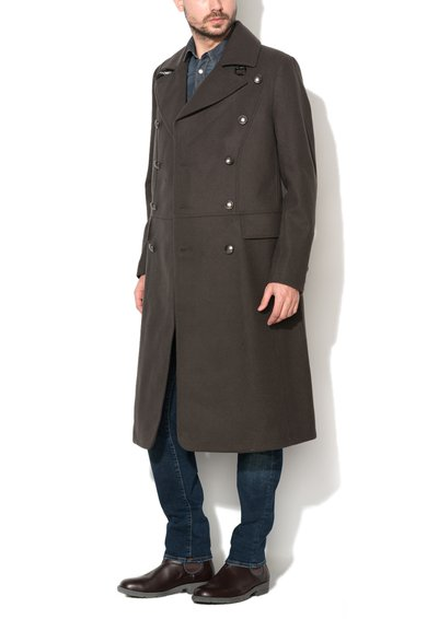 Palton verde cu aspect militar Tomlin de la GUESS JEANS