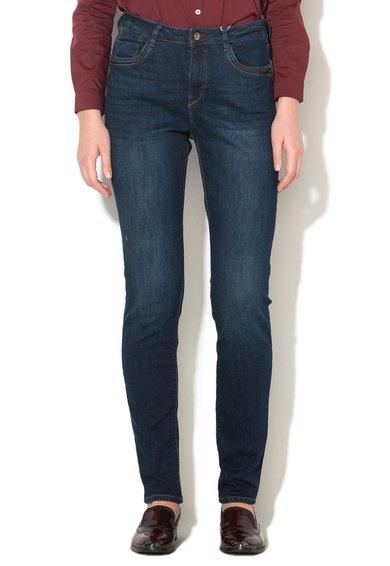 FashionDays.ro: Jeansi albastru inchis slim fit EDC by ESPRIT