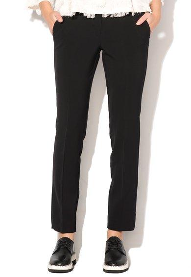FashionDays.ro: Pantaloni negri conici Flavia Marella