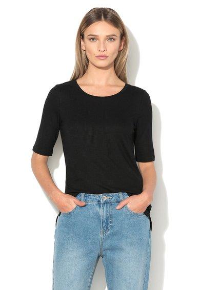 Vero Moda Bluza neagra cu striatii Iris